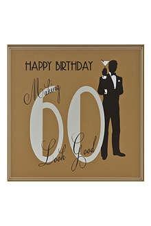 FIVE DOLLAR SHAKE 60th Birthday card