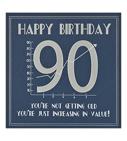 FIVE DOLLAR SHAKE 90th Birthday card