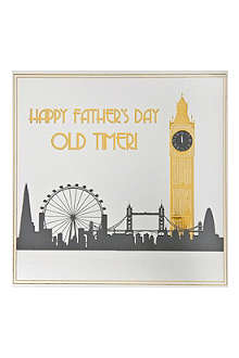 FIVE DOLLAR SHAKE Old Timer Father's Day card