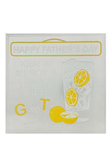 FIVE DOLLAR SHAKE G and T Father's Day card