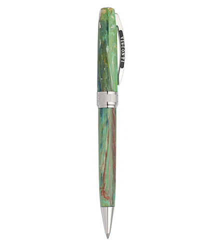 VISCONTI Van Gogh 'Irises' ballpoint pen