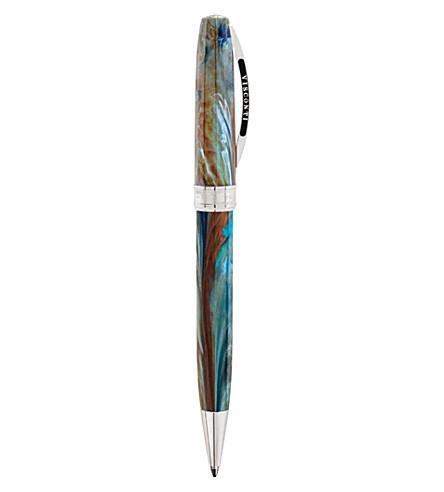 VISCONTI 梵的肖像蓝色的机械铅笔