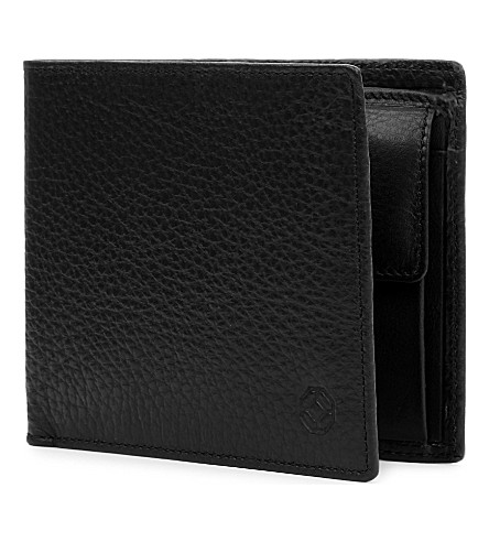 MONTEGRAPPA Leather wallet with coin case