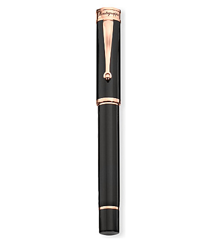 MONTEGRAPPA Ducale black fountain pen