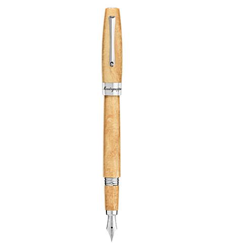 MONTEGRAPPA Felicità caramel gold fountain pen