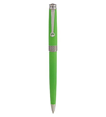 MONTEGRAPPA Piacere lime green ballpoint pen