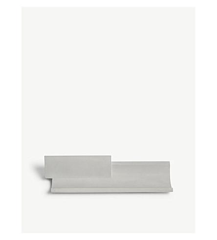 22 DESIGN Merge conrete card holder tray