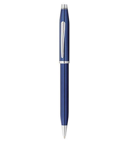 CROSS Century ll blue lacquer ballpoint pen