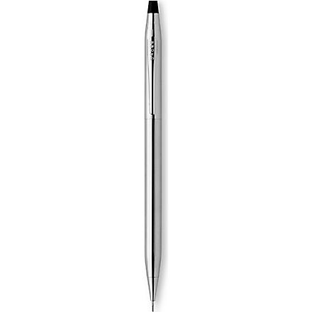 A T CROSS Classic Century chrome pencil (Chrome