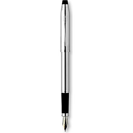 A T CROSS Century II lustrous chrome fountain pen (Chrome