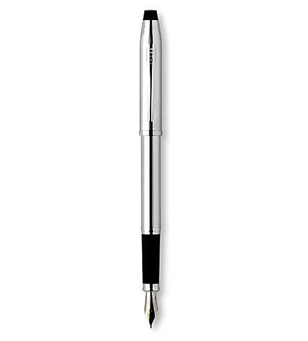 CROSS Century II lustrous chrome fountain pen (Chrome
