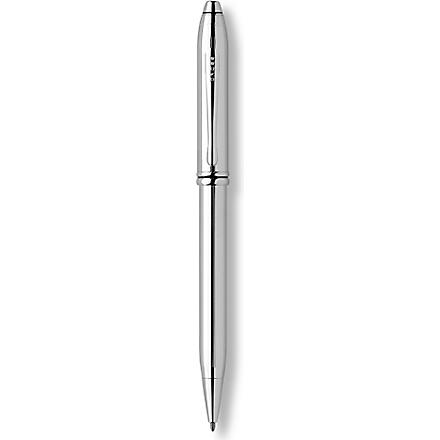 CROSS Townsend lustrous chrome ballpoint pen (Chrome