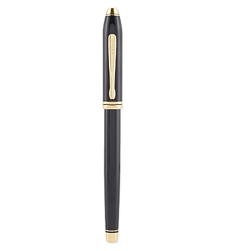 CROSS Black lacquer fountain pen