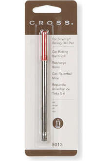 A T CROSS Red Selectip rollerball pen refill