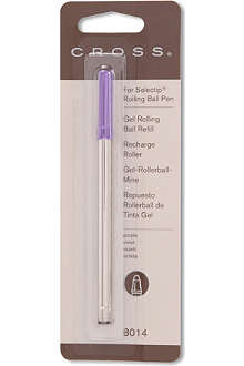 A T CROSS Selectip purple rollerball pen refill