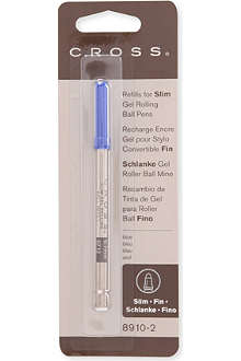 CROSS Slim gel rolling blue refill
