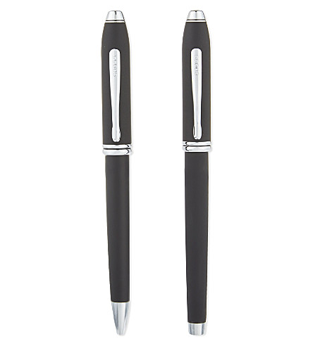 CROSS Townsend soft touch duo pen set