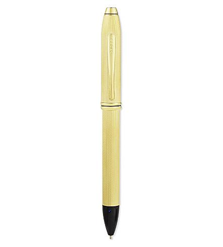 CROSS Townsend 23 Karat Gold Plate Fine-Tip Stylus pen