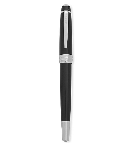 CROSS Bailey black lacquer fountain pen