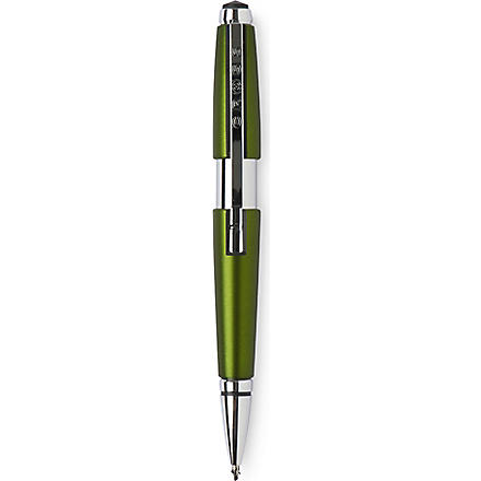 A T CROSS Edge rollerball pen green