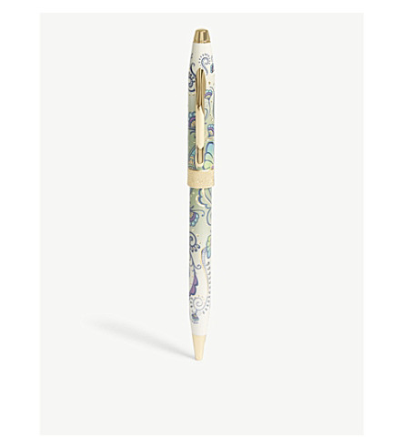 CROSS Botanica Green Daylily ballpoint pen