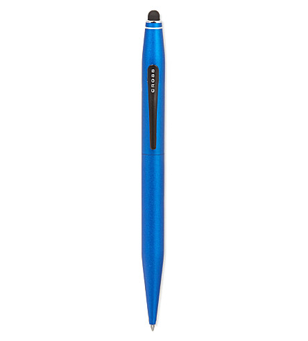 CROSS Metallic blue ball-point pen