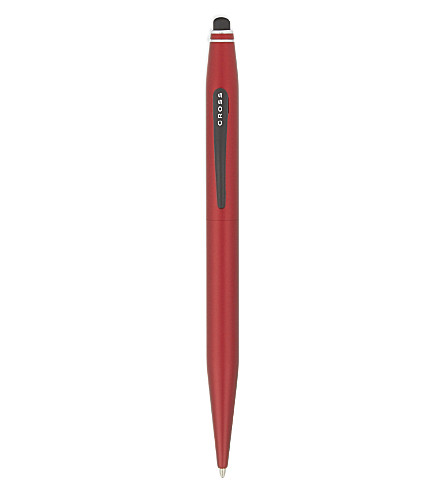 CROSS Tech 2 metallic red ballpoint pen with stylus
