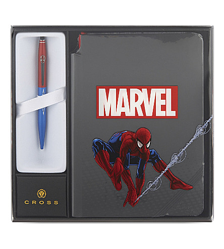 CROSS Spider-man ballpoint pen and journal set
