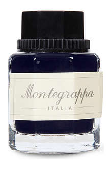 MONTEGRAPPA Blue ink bottle