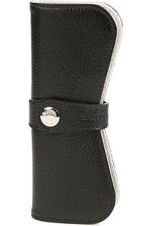 MONTEGRAPPA Leather single pen pouch
