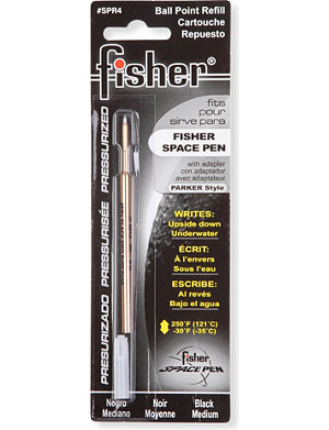 FISHER SPACE PEN Bullet pen black ink refill
