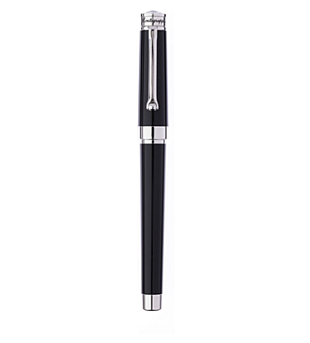 MONTEGRAPPA Parola fountain pen black resin