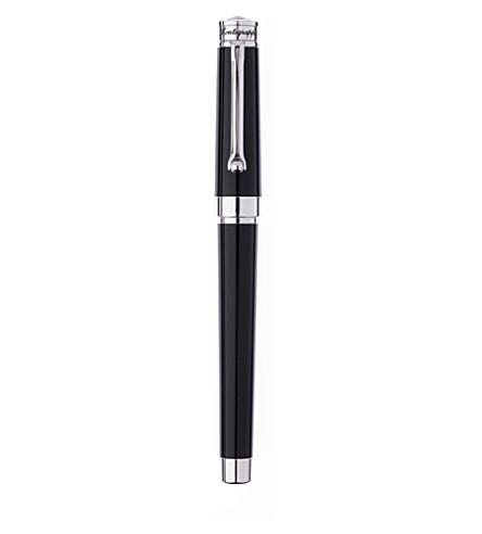MONTEGRAPPA Parola fountain pen black resin
