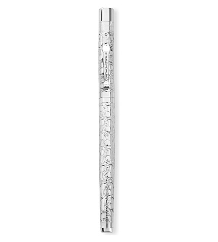 YARD-O-LED Viceroy standard Victorian sterling silver rollerball pen