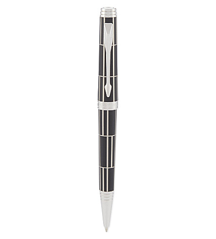 PARKER Premier Luxury Black CT ballpoint pen