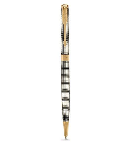 PARKER Sonnet sterling silver ciselé ballpoint pen