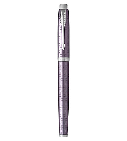 PARKER IM Premium satin-finish fountain pen