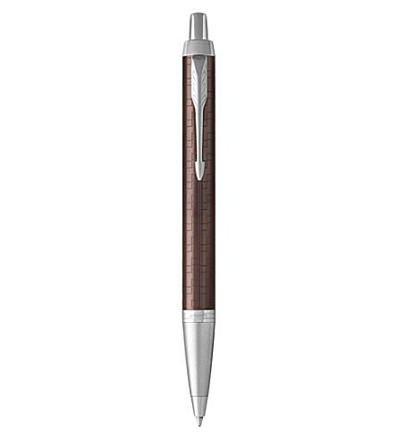 PARKER IM Premium satin-finish ballpoint pen