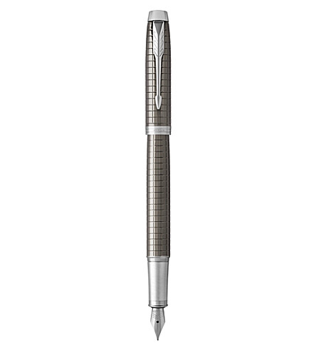 PARKER IM Premium lacquer-finish fountain pen