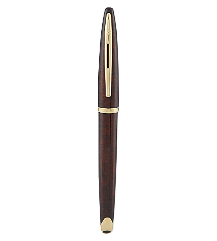 WATERMAN Carène Marine Amber fountain pen