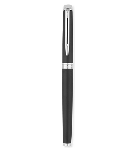WATERMAN Hemisphere matt black fountain pen
