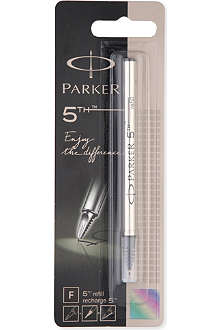 PARKER PENS 5th fine nib black refills