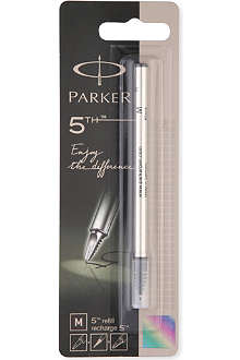 PARKER PENS 5th medium black refills