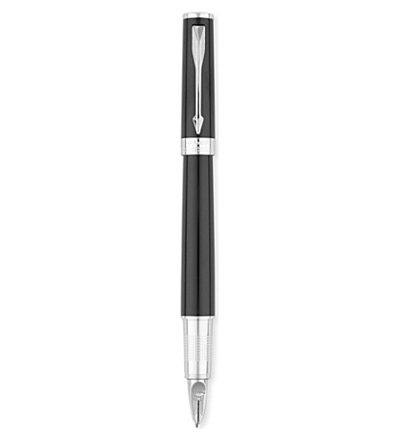 PARKER Ingenuity Large medium tip black ink pen
