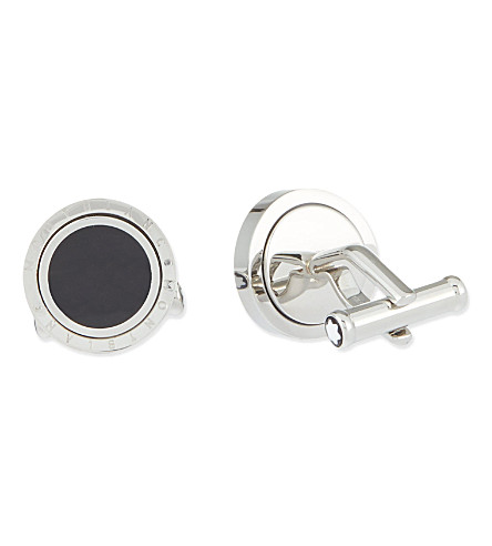 MONTBLANC Turning steel cufflinks
