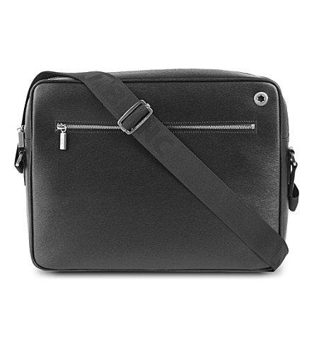 MONTBLANC Westside leather messenger bag