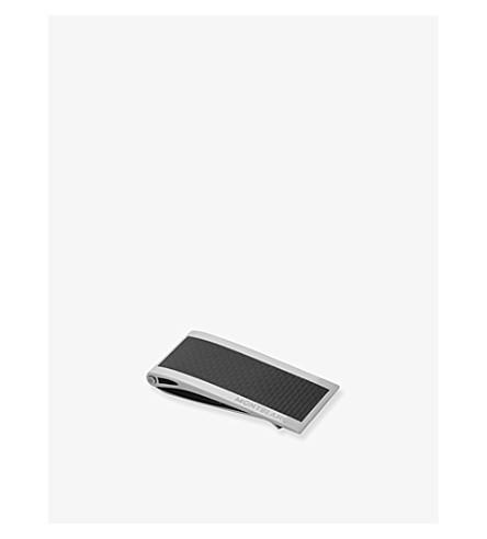 MONTBLANC 不锈钢和碳钱夹子