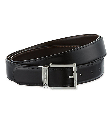 MONTBLANC Reversible leather belt