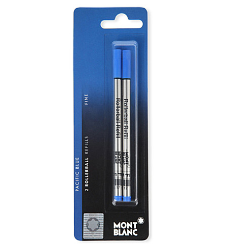 MONTBLANC Rollerball refills medium fortune green