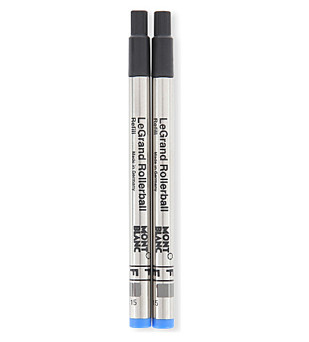 MONTBLANC Fine pacific blue LeGrand rollerball refills